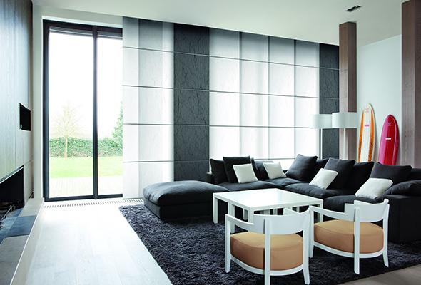 Paneelgordijnen en interieur tissus maison antwerpen - Decoratie interieur design ...