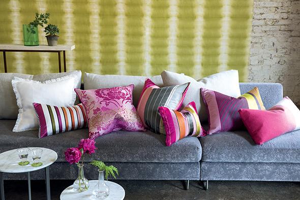 Sierkussens op maat tissus maison interieur en textiel