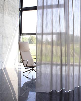 slechte akoestiek in huis of op kantoor u hoeft geen dikke zware gordijnen voor de ramen we introduceren nu ook de transparante gordijnstoffen die 5x