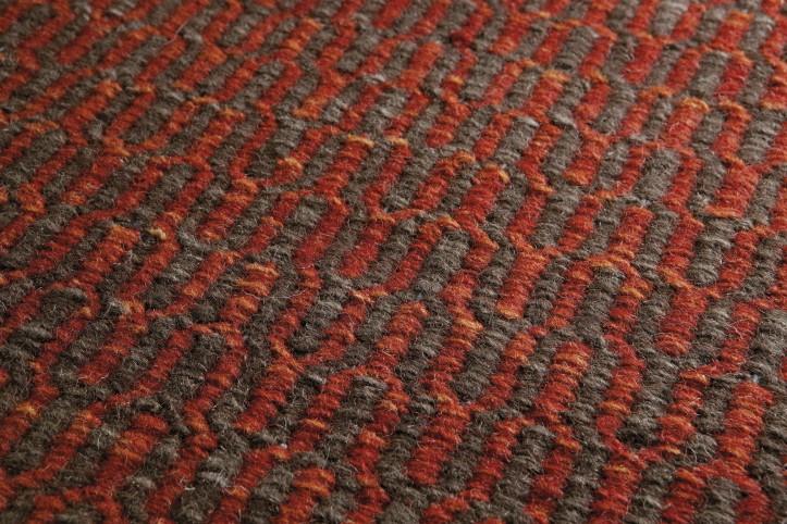 tapijt Loook wol kleur oranje